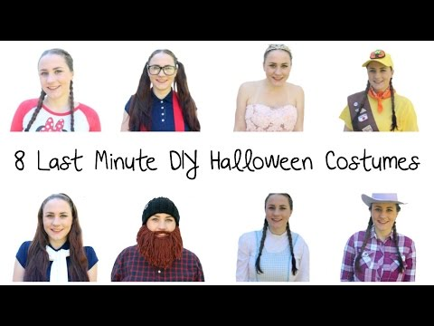 EASY DIY LAST MINUTE HALLOWEEN COSTUME IDEAS | Allie Young