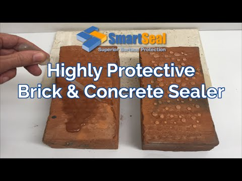 Highly Protective Brick Sealer & Concrete Sealer - Product & Application