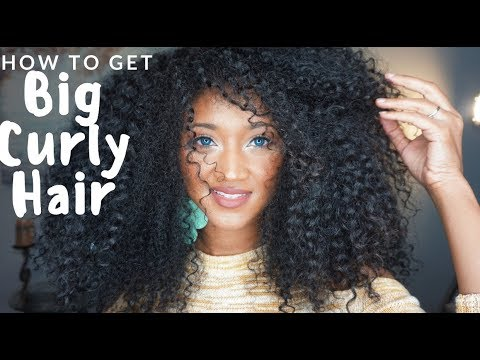 Natural (Curly) Hair Tutorial | Victoria Victoria