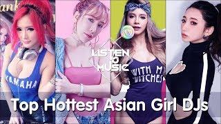 Top Hottest Asian Girl DJs Vol 3 - DJ Nonny, Mira.S, Rachel B and Licca