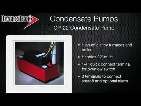 DiversiTech CP-22 Condensate Pumps