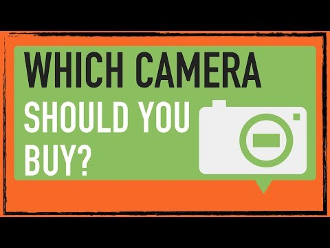 Which camera should you buy 2018? Point & Shoot, compact, dSLR.