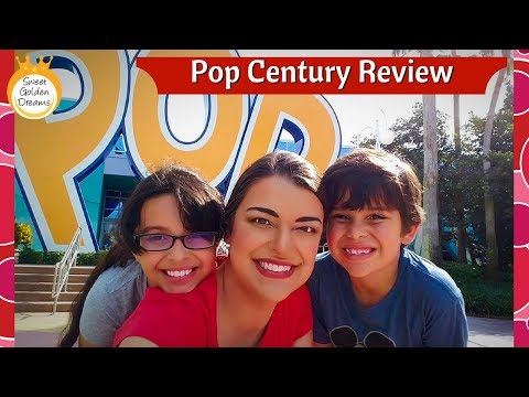 Pop Century Resort Review - Resort and room tour!