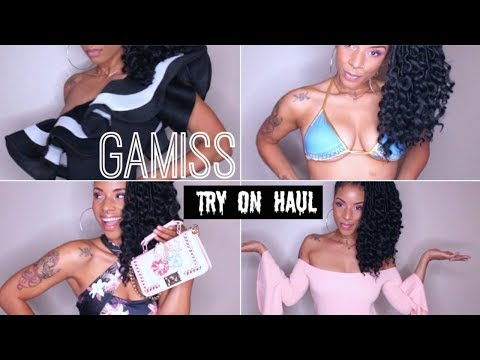 Gamiss Try On Haul- Bathing suits, Accesries, Bodysuits