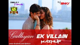 Ek Villain ~~ (Official Mashup)(DJ Shadow)(Full Song)(HD)(1080p)W/Lyrics.Ankit&Sidharth.2014