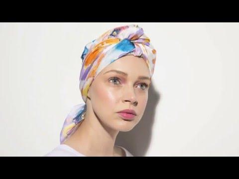 Scarf Tutorial: How to create a turban!