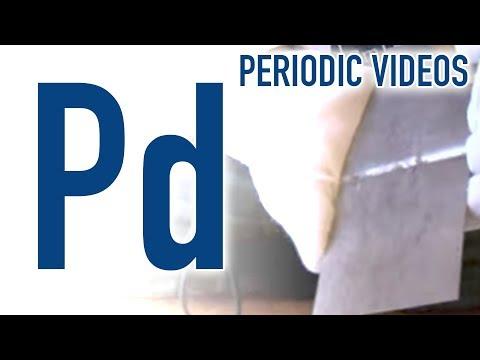 Palladium - Periodic Table of Videos