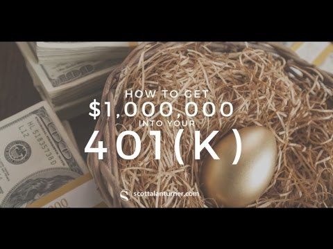 How to get $1M in your 401(k)