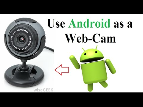 Use Android Phone As A Webcam In Both Ways - USB and Wireless Easy Steps.