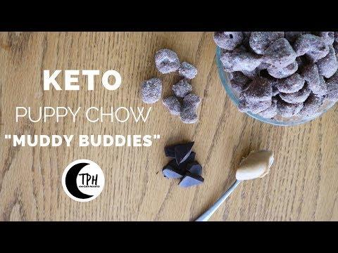Keto Puppy Chow Crunchy Chocolate Snack | Low-Carb Muddy Buddies Recipe
