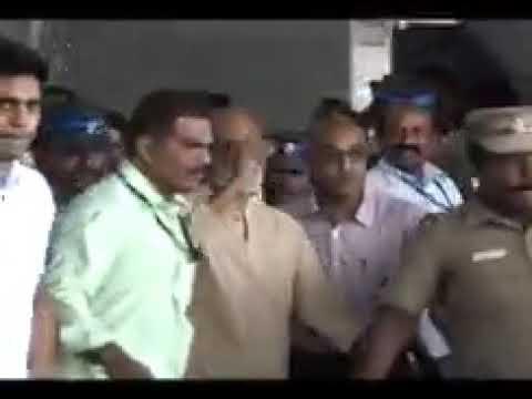 Rajinikanth anger speech at chennai airport