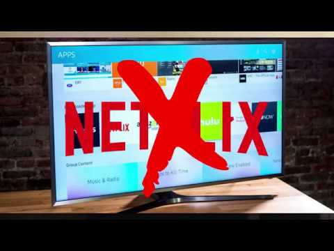 NETFLIX WONT OPEN ON SAMSUNG TV