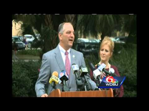 WATCH: Dardenne backs Democrat Edwards in Louisiana governor's race