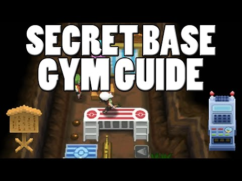 Secret Base Gym Guide! How to Make a Secret Base Gym Pokemon Omega Ruby Alpha Sapphire