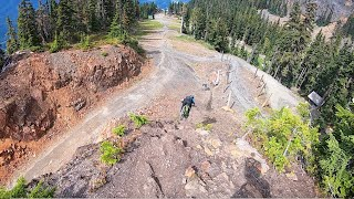 I CAN'T STOP RIDING MTB DOWNHILL IN WHISTLER BIKE PARK!!