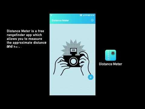 Quick estimation of distance and height of object with your phone | Distance Meter