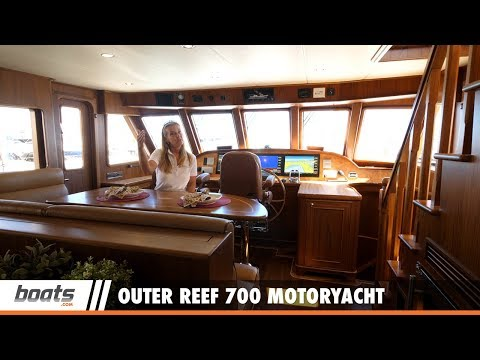 Outer Reef 700 Motoryacht: First Look Video