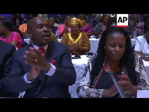 Zimbabwe speaker reads Mugabe's resignation letter
