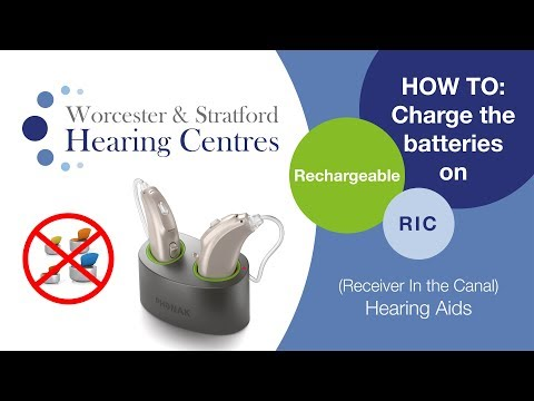 How to charge your hearing aid batteries (Rechargeable Hearing Aids)