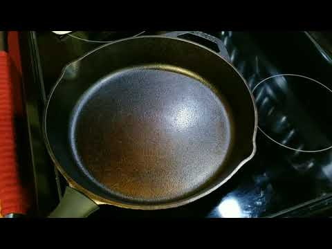 How to season new Lodge cast iron