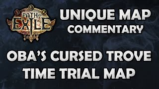 Path of Exile: Oba's Cursed Trove Unique Map Blind First Attempt - Beyond [Stream HIghlight]