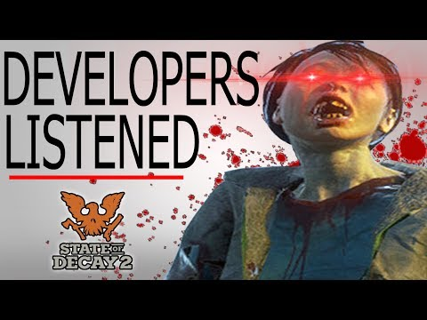 State of Decay 2 Releases MASSIVE 20GB UPDATE for Players!