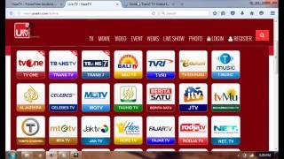 Cara  Nonton TV Online Secara Gratis Via UseeTV Indihome