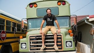 Ride Along: Converted School Bus Homes – Home Makers S1E4