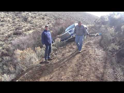 Dodge Slid Off the Road
