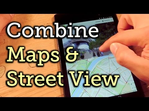 Use Google Maps & Street View into Split-Screen Mode for Easier Navigation - Android [How-To]