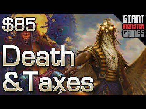 Budget Modern Deck Tech - Death and Taxes ($85)