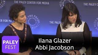 Broad City - Ilana Glazer, Abbi Jacobson, Amy Poehler, and Seth Rogen