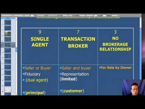 Forida Real Estate Broker Course - Online Video