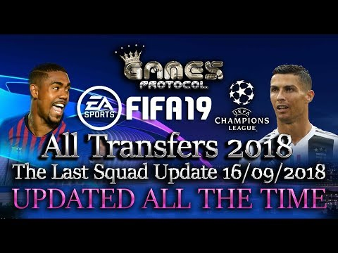 FIFA 18 PC All Transfers 2018 The Last Squad Update 27/01/2018 UPDATED ALL THE TIME