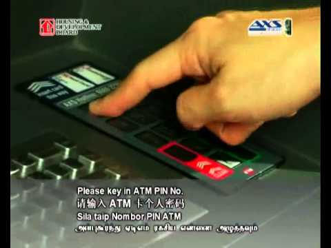 Make Payment using AXS (Renovation Contractor fees)