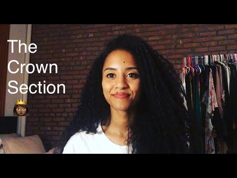 Natural Hair Tips | The Crown Section: Length & Texture