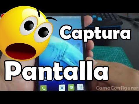 Como Hacer Captura De Pantalla En Alcatel One Touch Pop 2 5