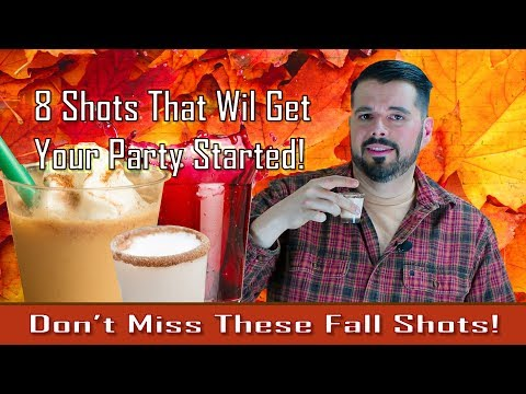 Thanksgiving Party Shots! Be A Mixology Maestro!