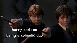 Download harry and ron being a comedic duo Video