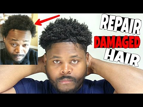 How to repair extremely damaged Hair