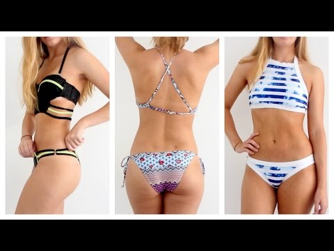 5cf164a757 DIY Ruched Bikini Bottom - Bathing Suit Short Bottoms Canada