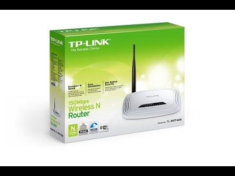 TP Link TL WR740N Router Hard Factory Reset and Setup