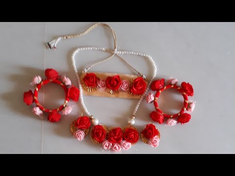 D.i.y how to make flower jewellery 2017