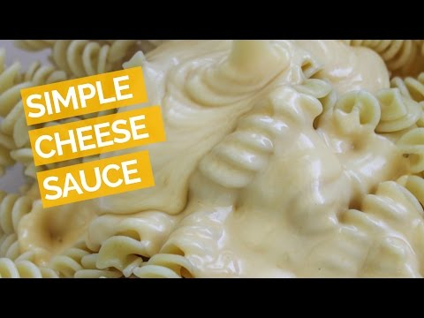 Easy Cheese Sauce Recipe