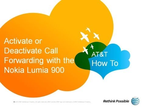 Activate or Deactivate Call Forwarding with the Nokia Lumia 900: AT&T How To Video Series