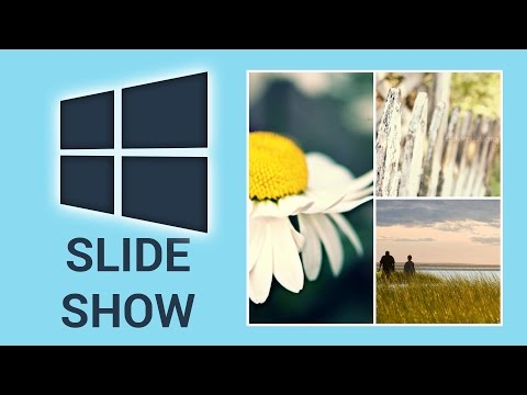 How To Create A Slideshow As Desktop Background