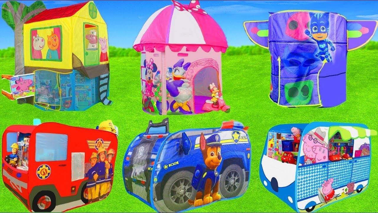 ألعاب باو باترول - سيارة المطافي, الأبطال تشيس, رايدر و رجل الإطفاء مارشال وألعاب للأطفال