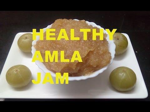 How to make Amla Jam/ Gooseberry Jam Recipe in hindi -monikazz kitchen