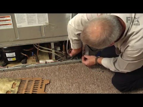 Kenmore Refrigerator Repair – How to replace the Water Filter Housing