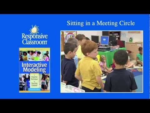 Sitting in a Circle (Interactive Modeling)